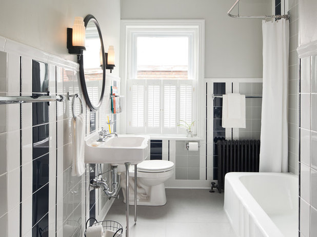 Traditional Bathroom by Buckminster Green LLC