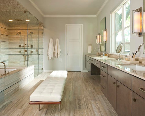 Bathroom Bench Ideas, Pictures, Remodel and Decor