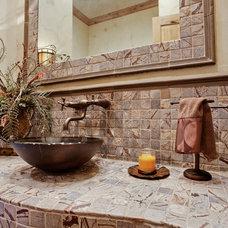 Traditional Bathroom by Rosewood Custom Builders