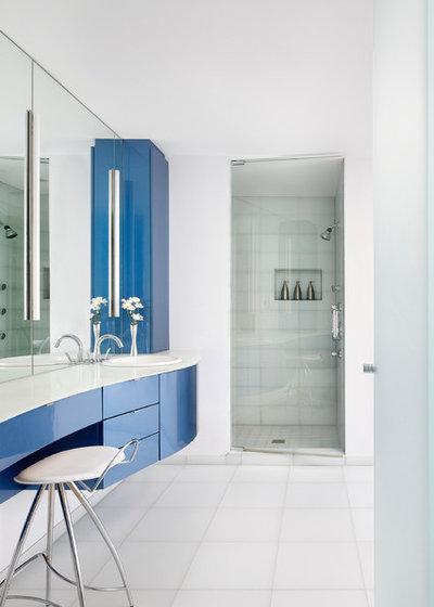 Contemporary Bathroom by Blutter Shiff Design Associates