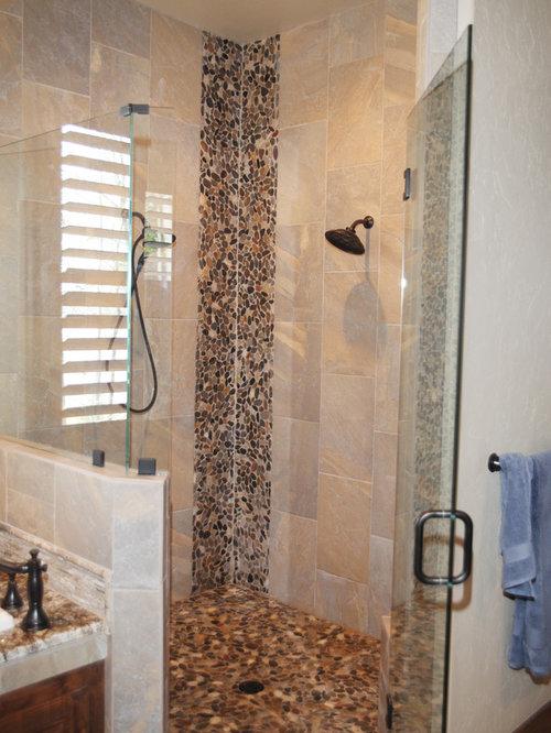 Ranch shutter bathroom design ideas renovations photos for Ranch bathroom ideas