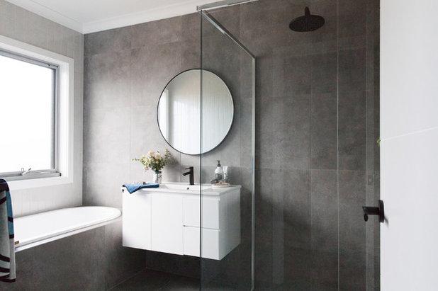 Contemporary Bathroom By Studio Black Interiors