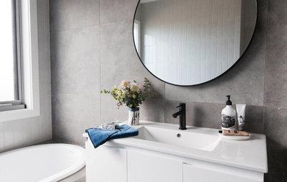 Enkelt, elegant og moderne badeværelse – på bare 6 kvadratmeter