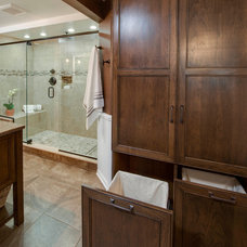 Traditional Bathroom by Epiphany Kitchens