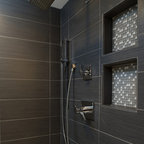 Luxury Makeover To Small Shower Alcove Contemporary