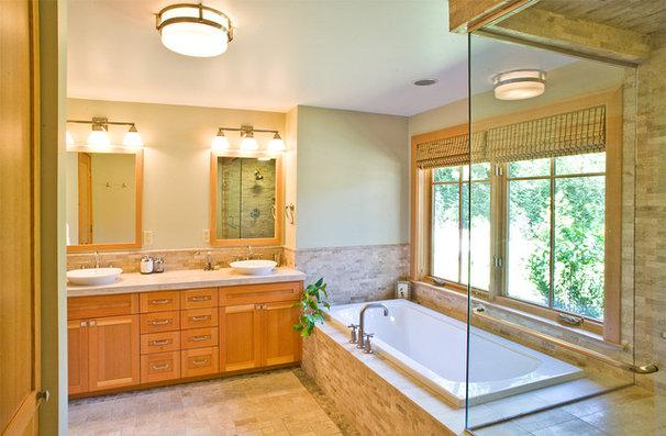 Contemporary Bathroom by Paul Moon Design
