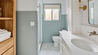 Northwest Contemporary Bathroom Remodel