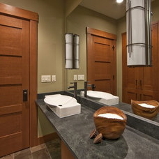 Contemporary Bathroom by Estate Homes Inc