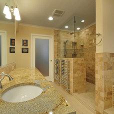 Traditional Bathroom by Zuri Custom Homes & Renovations