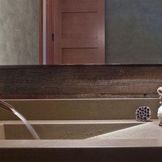 Contemporary Bathroom by Estate Homes Inc
