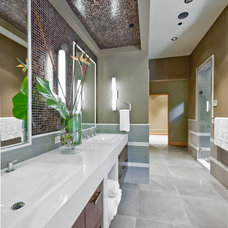 Contemporary Bathroom Northwest Territorial Residence