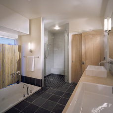 Contemporary Bathroom by Rhodes Architecture + Light