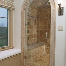 Bathroom by Thorson Restoration & Construction