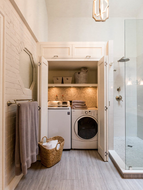 Best laundry closet design ideas remodel pictures houzz for Laundry room connected to master closet