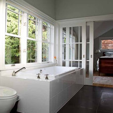 Traditional Bathroom by Neiman Taber Architects