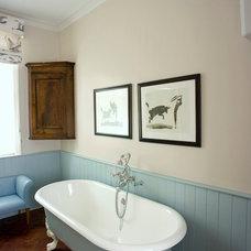 Traditional Bathroom by Helene Dabrowski Interiors