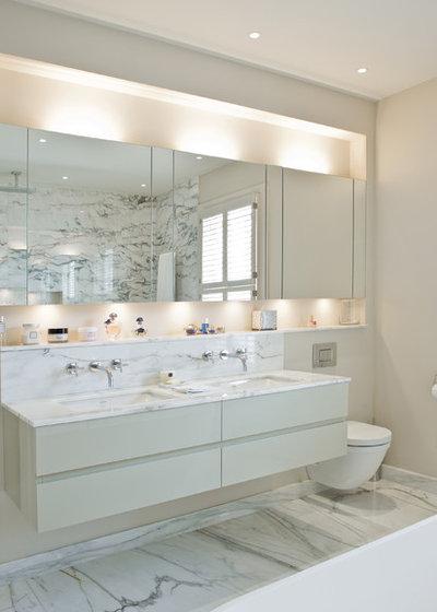Contemporary Bathroom by Harriet Forde Design