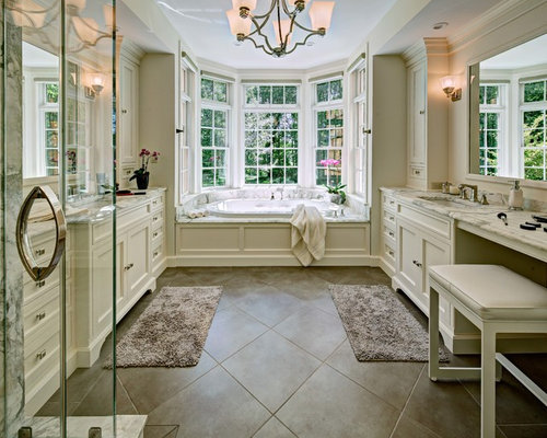 His and hers bathroom houzz for His and hers bathroom