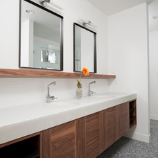 Industrial Bathroom by Work Shop Denver