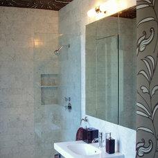 Modern Bathroom by Laurie Kertis, Ltd.