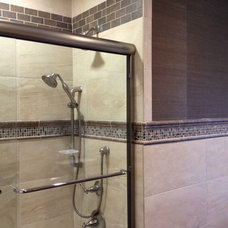 Contemporary Bathroom by Tiles Unlimited, Inc.