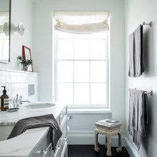 Transitional Bathroom NYC Condo
