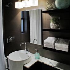 Contemporary Bathroom by Luminosus Designs LLC