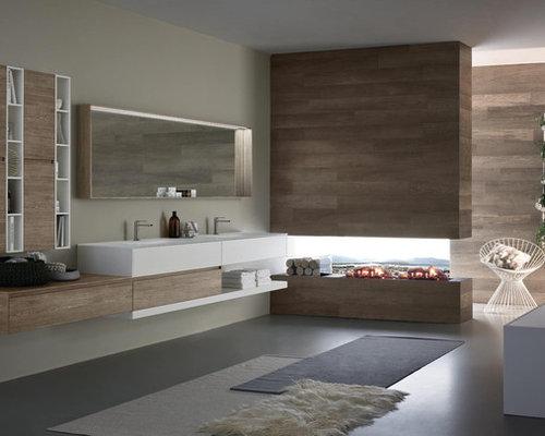 Modern bathroom furniture houzz for Modern bathroom furniture
