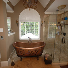 Traditional Bathroom by O'Dea Properties Inc.