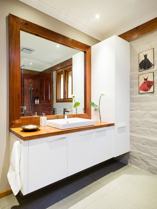 Rustic melbourne bathroom design ideas remodels photos for Bathroom decor melbourne