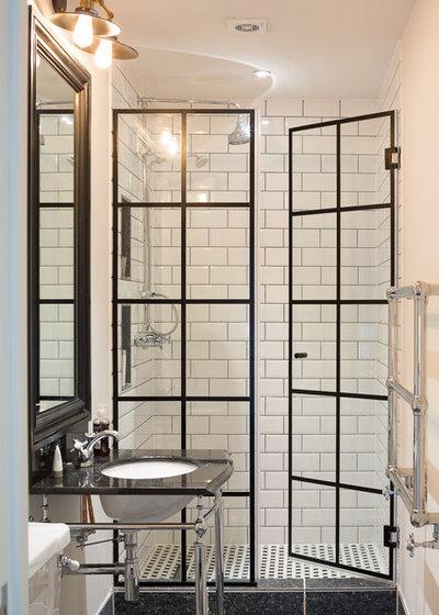 Victorian Bathroom by Hughes Developments