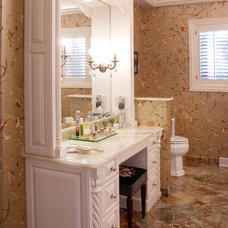 Traditional Bathroom by LaMantia Design & Construction