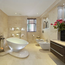 Contemporary Bathroom by House Doctor