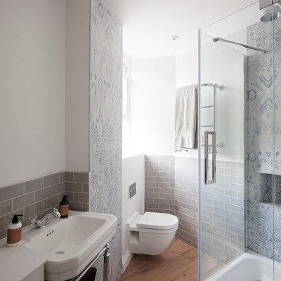Schönes nischendasein: ein londoner bad mit klassischen details