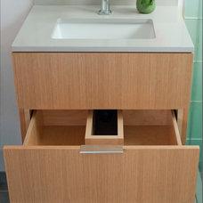 Modern Bathroom by Lignum Vitae