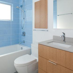 Неиссякаемый источник вдохновения для домашнего уюта: ванная комната в стиле модернизм