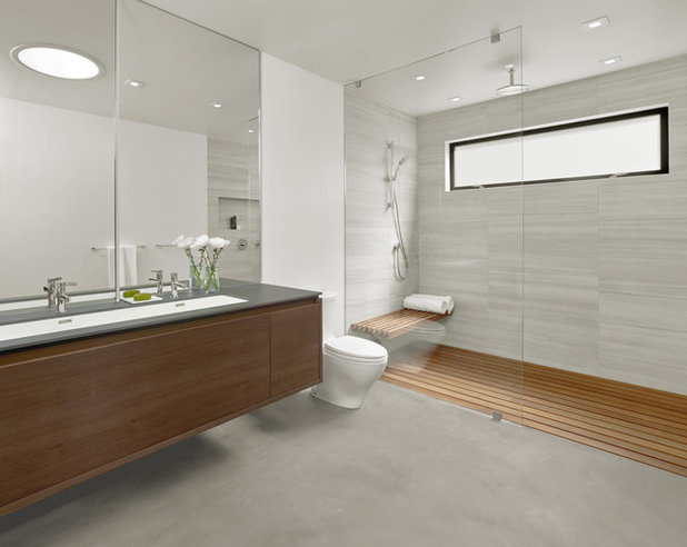 Modern Bathroom by Knock Architecture and Design