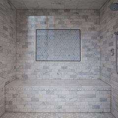 contemporary bathroom by Oakley Home Builders