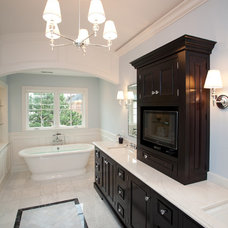 Traditional Bathroom by Oakley Home Builders