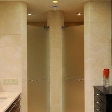 Contemporary Bathroom by Savena Doychinov, CKD/Design Studio International