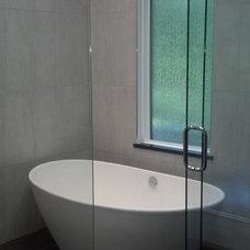 Contemporary Bathroom by Hardcastle Contracting, LLC