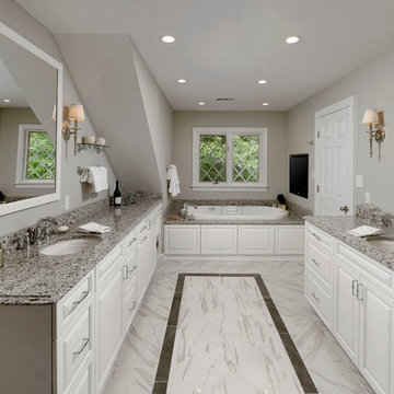 Oakton Master Bathroom