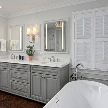 Oakton Virginia Master Bathroom