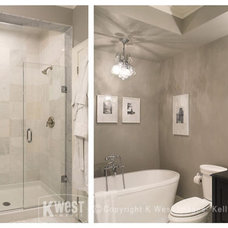 Contemporary Bathroom by K West Images, Interior and Garden Photography