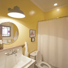 Traditional Bathroom by Linton Architects
