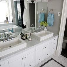 Contemporary Bathroom by Capoferro Design Build Group