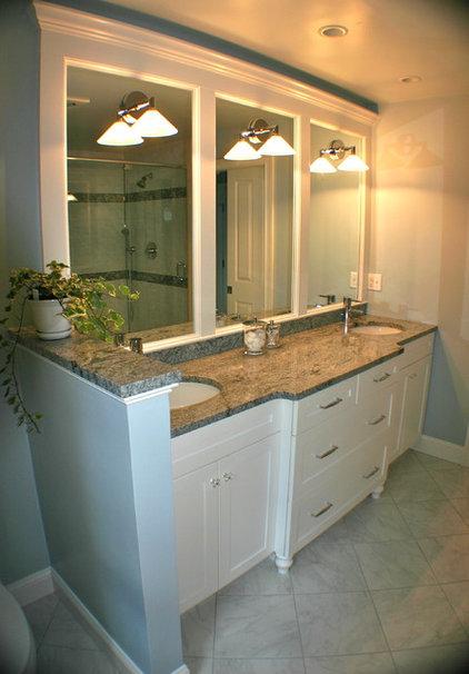 Modern Bathroom by Artisan Kitchens LLC