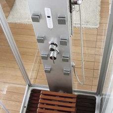 Contemporary Bathroom by Shower Stalls INC