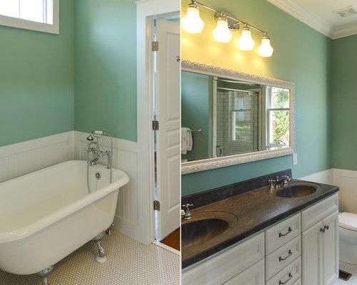 Craftsman raleigh bathroom design ideas remodels photos - Craftsman bathroom design ...