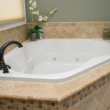 Traditional Bathroom by Black Diamond Construction Co.